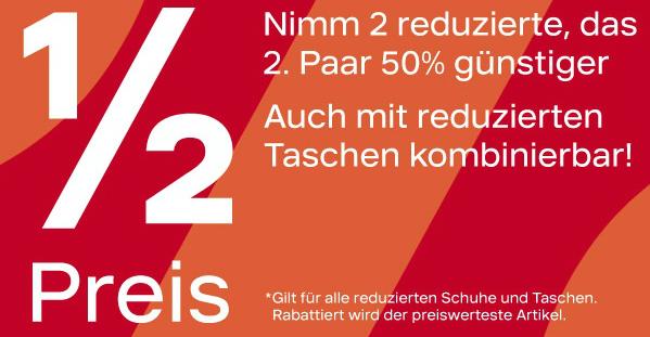 Deichmann Sale + 50 Prozent Extra Rabatt