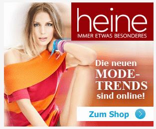 Heine Gutschein über 10 Euro  August 2012