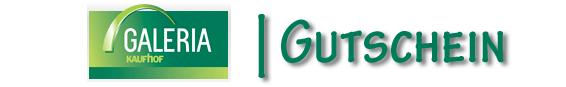 Galeria Kaufhof Gutscheincode Onlinegutschein Rabattcode