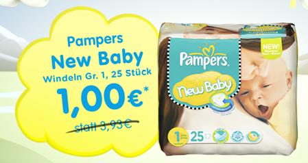 pampers new born günstig