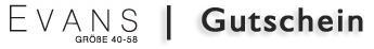 EVANSMode Gutscheincode Rabattcode Vorteilscode