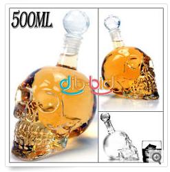 China Gadget Skull Totenkopf Flasche Bar
