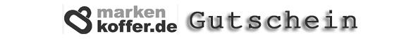 Markenkoffer Rabattcode Gutscheincode Vorteilscode