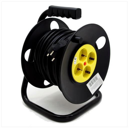 25m kabeltrommel verl ngerungskabel angebote bei ebay. Black Bedroom Furniture Sets. Home Design Ideas