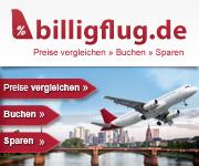 Billigflug.de Gutscheincode Rabattcode Vorteilsnummer