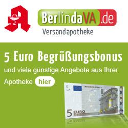 BerlindaVA Versandapotheke Gutscheincode Couponcode Sparnummer