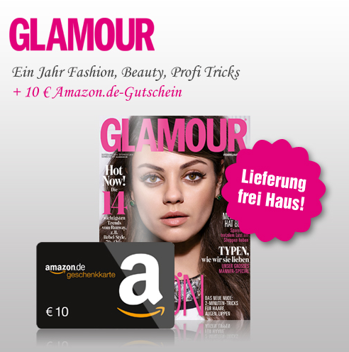 Glamour Jahresabo mit Prämie