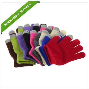 Smartphone Touchscreen Handschuhe billig als Gadget bei ebay