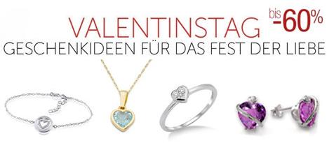 Valentinstag Amazon Herzschmuck Geschenkidee