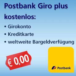 Postbank Girokonto gratis und kostenlos mit Prämie