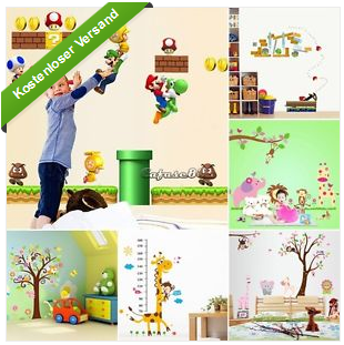 dekotipp tolle wandbilder video games super mario f r kinder und ladies. Black Bedroom Furniture Sets. Home Design Ideas