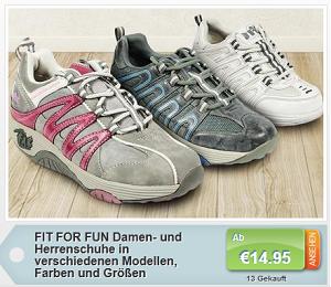 fit for fun schuhe f r m nner und frauen nur 14 95 euro mit versand. Black Bedroom Furniture Sets. Home Design Ideas