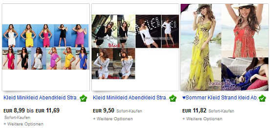 Kleider gunstig kaufen ebay