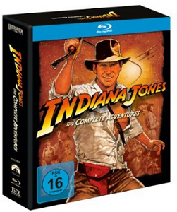 Indiana Jones auf Blu-ray
