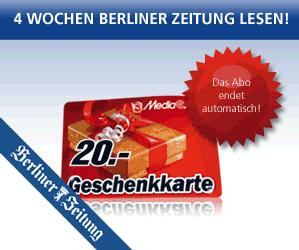 Berliner Zeitung mit Gewinn lesen