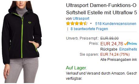 Ultrasport Damenjacke Estelle billig & reduziert
