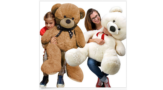 teddy xxl kuscheltier geschenkidee riesen pl schb r ab 16 90 euro. Black Bedroom Furniture Sets. Home Design Ideas