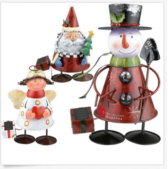 Tolle Weihnachtsfiguren Mit Led Solarbeleuchtung