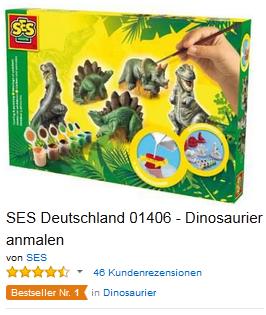 Dinosaurierer Gipsset billig Geschenkidee