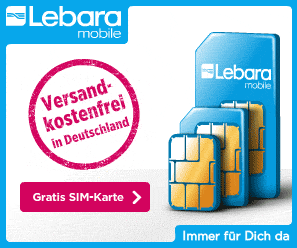Lebara Simkarte komplett kostenlos