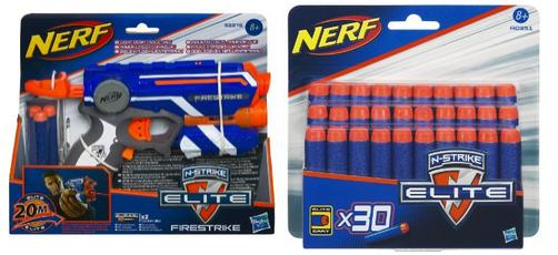 Nerf n strike elite pistole firestrike er darts
