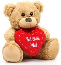 Teddybär verschenken zum Valentinstag
