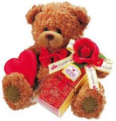 Valentinstag Teddy verschenken