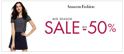 Mid-Season-Sale bei Amazon Fashion
