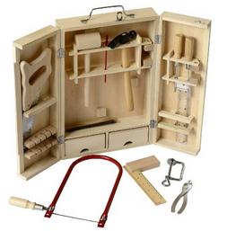 holzspielzeug reduziert werkzeugkoffer von beluga nur 10 78. Black Bedroom Furniture Sets. Home Design Ideas