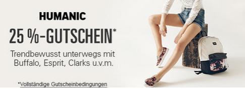 Humanic ebay Gutschein