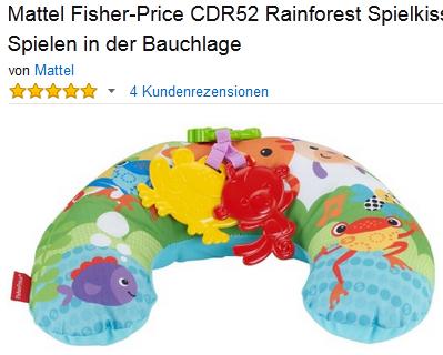 Rainforest Spielkissen von Fisher-Price günstig & reduziert