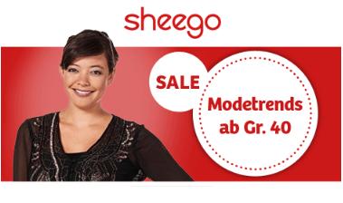 sheego Sale mit Schnäppchen