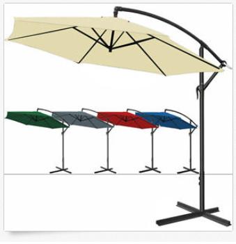 Sonnenschirm & Ampelschirm mit Kurbel günstig bei ebay