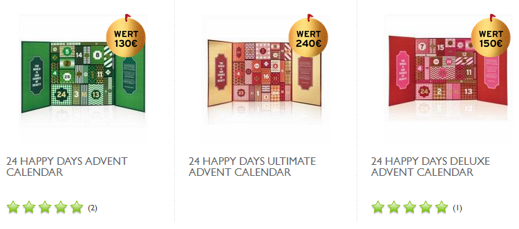 Adventskalender von The Body Shop: Beauty, Kosmetik, Schönheit