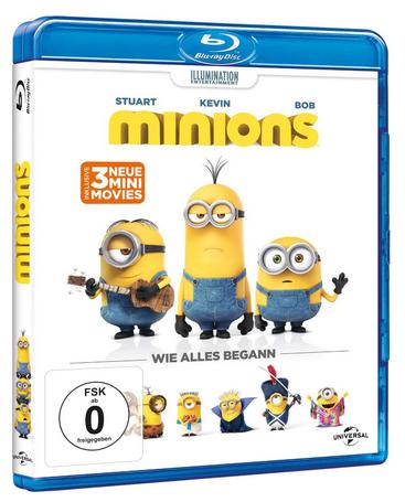 Minions Film günstig & reduziert auf Blu-ray