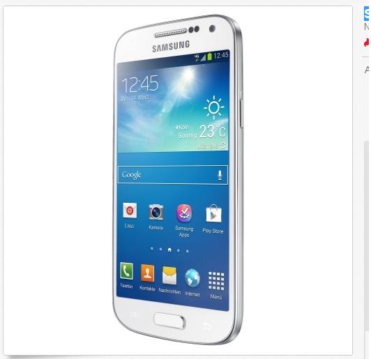 Samsung I9195i Galaxy S4 billig, schnell sein