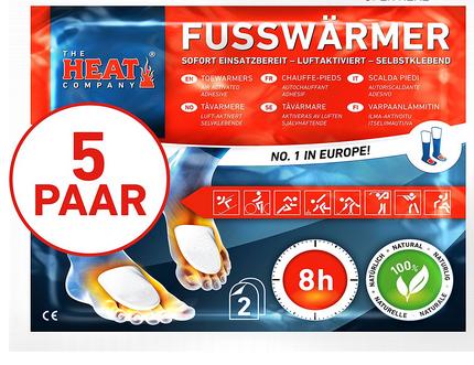 The HEAT Company Fußwärmer: nützliches Accessoire im Winter
