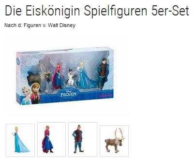 Figuren-Set von Die Eiskönig von Bullyland reduziert