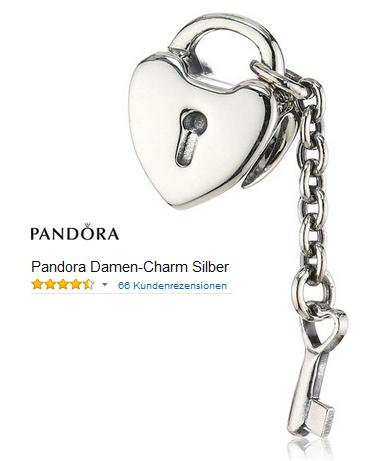 Pandora Charm: Schlüssel Zu Meinem Herzen