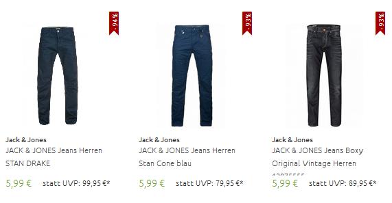 Jack Jones Jeans billig bestellen