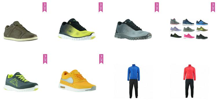 Kappa Schuhe & Kleidung stark reduziert bei Outlet46