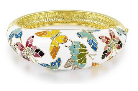 Feder von Versailles Armband