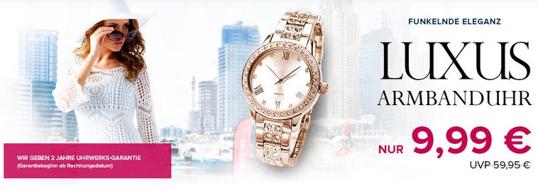 Luxus-Armbanduhr bei Silvity, Screenshot silvity.de