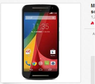 Motorola Moto G2 Smartphone billig, reduziert, versandkostenfrei
