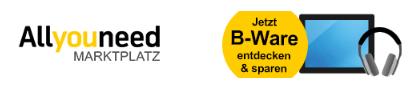 allyouneed B-Ware - reduzierte Deals