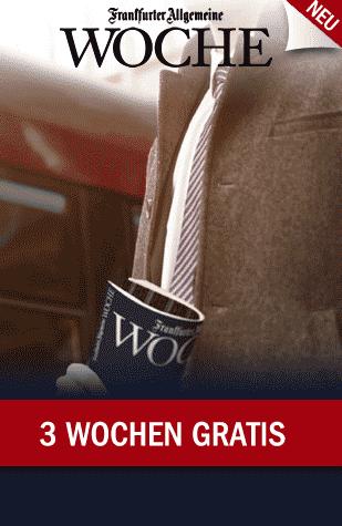 Frankfurter Allgemeine Woche kostenlos
