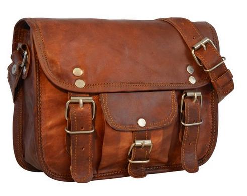 Gusti Leder nature Handtasche, Damentasche Emilia 7 für 45 Euro