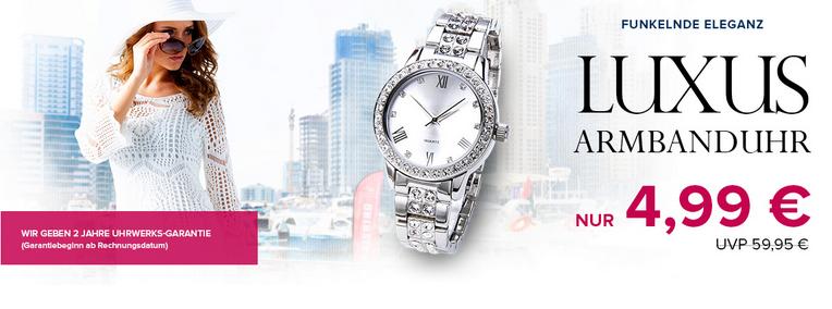Luxus-Armbanduhr reduziert bei Silvity