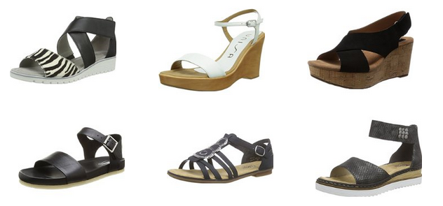 Sandalen-Sale bei Amazon