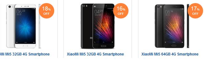 Xiaomi Mi5 Smartphone: billig, reduziert, versandkostenfrei